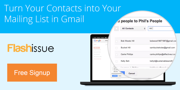 Turn Your Contacts into Your Mailing List in Gmail