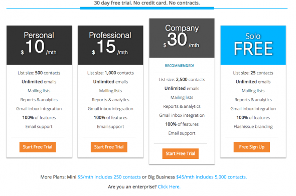 new pricing plans gmail for