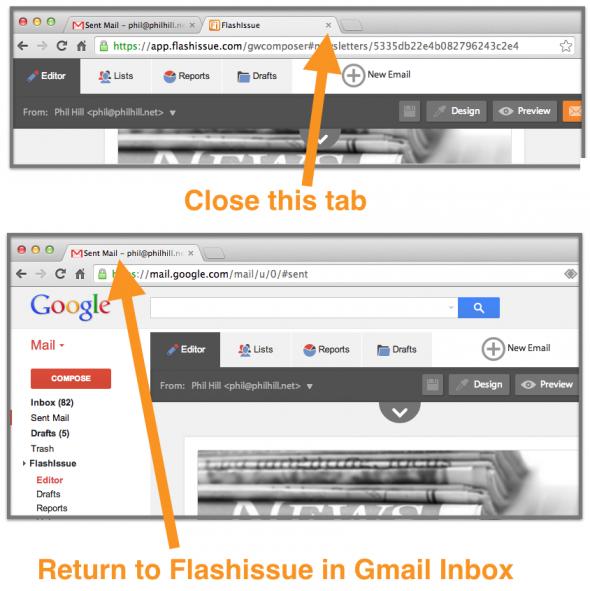 close webapp share