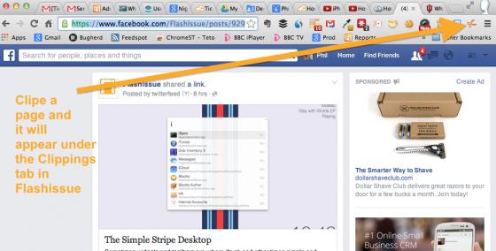 clip a facebook link url