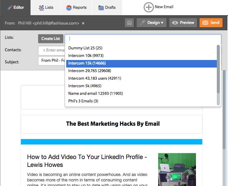 import list gmail 3