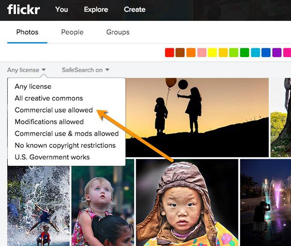 Flickr License